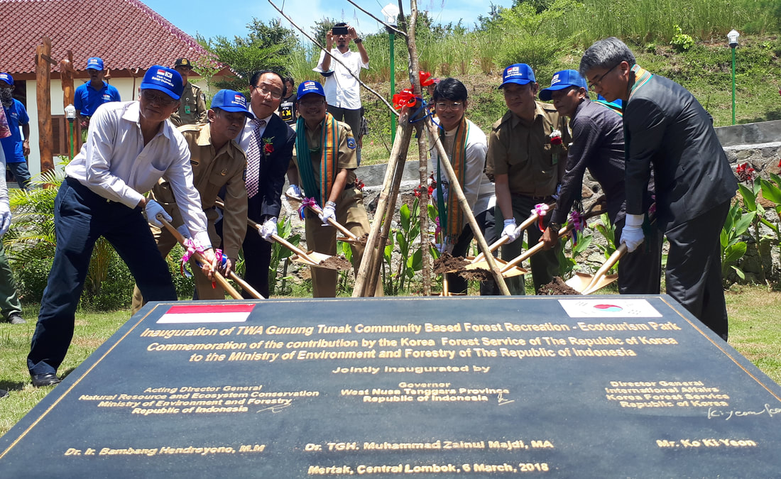 Korea and Indonesia Join Hands to Promote Forest Recreation and